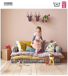 5 playful children's room DIYs - home and decoration - Kids Playroom