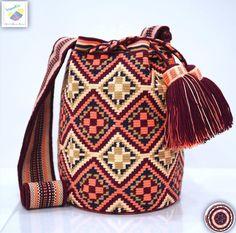 Tapestry Bag, Tapestry Crochet, Tunisian Crochet, Filet Crochet, Mochila Crochet, Boho Bags, Crochet Purses, Pretty Patterns, Clutch