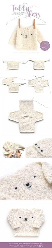 Jersey de bebé de punto – Teddy Baby