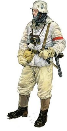 German at Stalingrad, 1942-1943.  (Uniforme de invierno. STALINGRAD)
