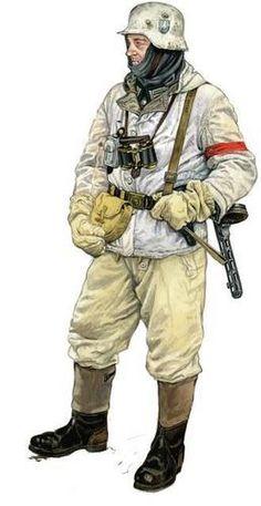 German at Stalingrad, 1942-1943.  (Uniforme de invierno. STALINGRAD)