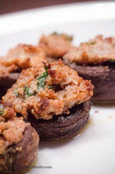Champignons farcis au Philadelphia | Piratage Culinaire