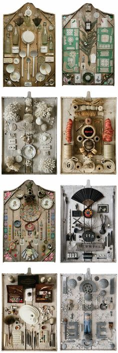 Assemblages...wow, these are so amazing!