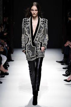 lovely jacket.  Balmain.