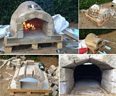 Instructions: How to build your own Pizza Oven in the yard