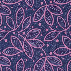 Amy Butler - Violette - Leaf Lines - Rose