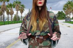 Miss Margaret Cruzemark : New personal style post : The curves of your lips rewrite history. Your Lips, Military Jacket, Personal Style, Curves, History, How To Wear, Fashion, Moda, Field Jacket
