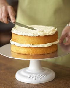"Ateco Cake Stand, 12"" from Williams-Sonoma. $85.00"