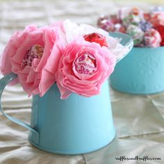 DIY Lollipop Flowers