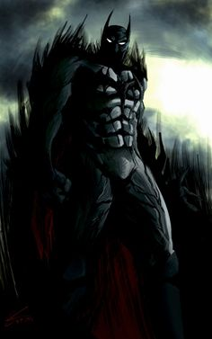 Scary Batman by Koldoom.deviantart.com on @DeviantArt