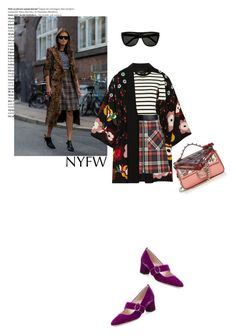 """Untitled #589"" by krahmmm ❤ liked on Polyvore featuring Balmain, RED Valentino, Theory, Miu Miu, Jil Sander, Fendi, Yves Saint Laurent and SJP"
