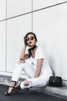 Wearing White On Labor Day - The Chriselle Factor