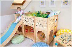 Cool Kids Bedroom and Playroom Ideas