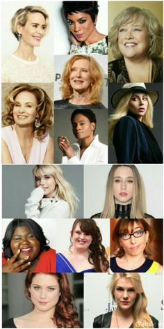 Kudos to the Fierce, Beautiful and Multi-Talented Women of American Horror Story! In celebration of International Women's Day, March 9th