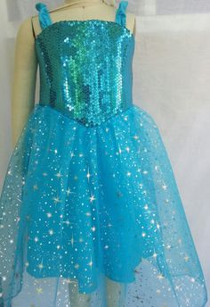 FROZEN ELSA  DRESS by pinkbubblesclothing on Etsy, $65.00 Frozen Elsa Dress, Frozen Theme Party, Frozen Princess, Diy Clothes, Dress Patterns, Halloween Costumes, Formal Dresses, Trending Outfits, Princess Dresses