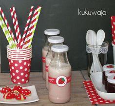 milk / party / picnic bottles - kukuwaja