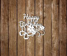 Birthday papercut Paper Cutting Template Papercut by DreamyMarimmy