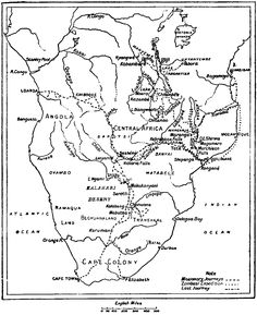 [Map] from The Story of David Livingstone (and you could read the whole book to go with it)