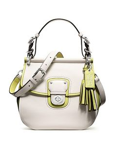 COACH Legacy Archival Two-tone Leather Willis | Bloomingdale's