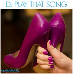DJ PLAY THAT SONG nail polish by Essie with Dolce Vita Pumps from Plato's Closet by April Golightly
