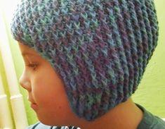 Háčkovaná ušanka – Jak háčkovat Knitted Hats, Knitting, Fashion, Patterns, Moda, Tricot, Fashion Styles, Breien, Stricken