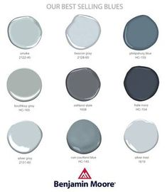 You know I love Benjamin Moore! Talking about all my favorite blue paint colors on lauren-nelson.com.