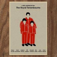 The Royal Tenenbaums Movie Poster, $32 | 23 Perfectly Quaint Wes Anderson Products