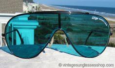 Buy Ray-Ban Wings Black Turquoise Lens sunglasses at Vintage Sunglasses Shop. Men Sunglasses Fashion, Locs Sunglasses, Fashion Eye Glasses, Versace Sunglasses, Sunglasses Shop, Cheap Ray Ban Sunglasses, Luxury Glasses, Mens Glasses, Hats For Men