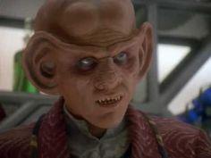 Quark and Garak talk root beer. It's insidious.