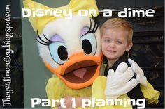 Disney on a Dime. Part 1: Planning