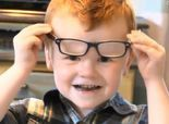 Facebook strangers rally behind 4-year-old with glasses