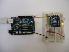 arduino and Xbee instructions ----  Looking for FUN new XBEE projects?!?!?!  Check out http://xbeehq.com/ !!!