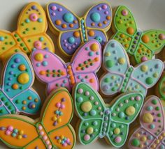 Reserved for GracieButterfly Decorated Cookie Favors