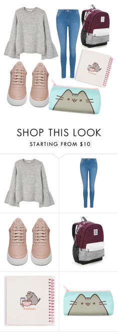 """""""just my style"""" by rociooc on Polyvore featuring MANGO, George, Filling Pieces, Victoria's Secret and Pusheen"""