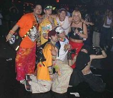 Brightly colored raver gear. | 33 '90s Trends That, In Retrospect, Maybe Weren't Such A Great Idea