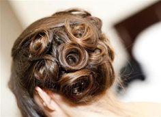 Classic pin curls