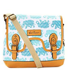 Look at this WallFlower Aqua Lonnie Messenger Bag on #zulily today!