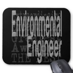 Environmental Engineer Extraordinaire Mouse Pad - individual customized designs custom gift ideas diy
