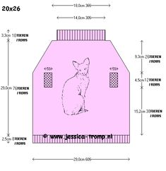 Pullover knitpattern for a sphynx cat free knitting pattern