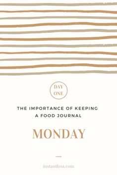 The Importance of Keeping a Food Journal- Day 6 - Instant Loss - Conveniently Cooking Your Way To Weight Loss Weight Loss Before, Weight Loss Plans, Weight Loss Program, Weight Loss Transformation, Best Weight Loss, Weight Loss Tips, Speed Up Metabolism, New Year New You, Morning Habits