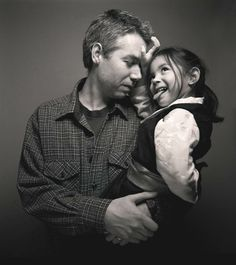 "Adam ""MCA"" Yauch and his daughter"