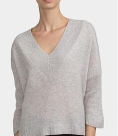 Buy The Nicole: Cashmere and Wool V-Neck Jumper on-line in Ireland from KableCo - Ireland's Premier retailer of Pure Cashmere Tops, Scarfs and Jumpers. Cashmere Wool, Knitwear, Jumper, V Neck, Sweaters, Stuff To Buy, Shopping, Tops, Fashion