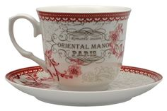 Conjunto Cafezinho Oriental Manor