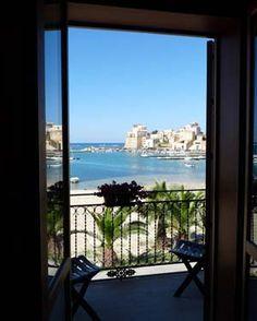 Bedroom balcony, Hotel Cala Marina, Castellammare del Golfo