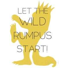 where the wild things are free printables - Yahoo Image Search Results