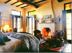 spanish master bedrooms - Google Search