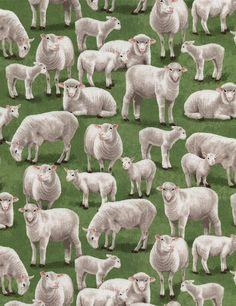 Timeless Treasures  100% cotton  44/45 wide  Item #s: Pigs GM-C2497, Farm Scenic GM-C2572, Sheep GM-C2574, Cows GM-C2571,  Compare @ $10.99 per
