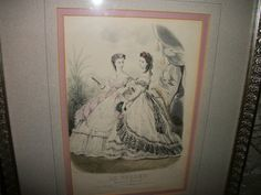 Vintage godney ladies print victorian silver by FabulousFinds1, $24.95