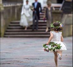 garden flower girl | flower crown | floral wreath | ballet flats