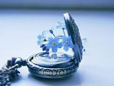 forget me not pocket watch aesthetic Ravenclaw, Storyboard, Photo Bleu, Fleur Delacour, All The Bright Places, Everything Is Blue, Himmelblau, Foto Art, Luna Lovegood